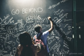 Porlwi by Nature - Aapravasi Ghat - Chalk Board