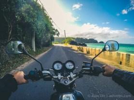 Road Trip - Baie du Cap - Haojue 125