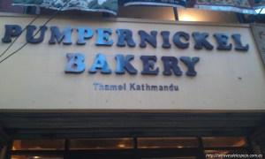 Cafetería en Thamel