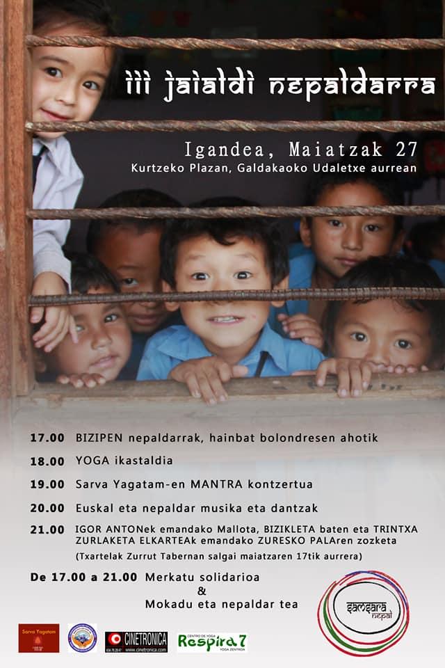 III jaialdia Nepaldarra - III Festival Nepalí