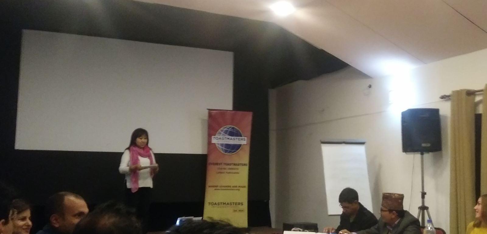 Toastmasters Everest Club - Patan - Kathmandu
