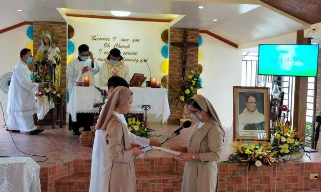 First profession of vows Sr. Maria Le Thi Mong Linh, CMT