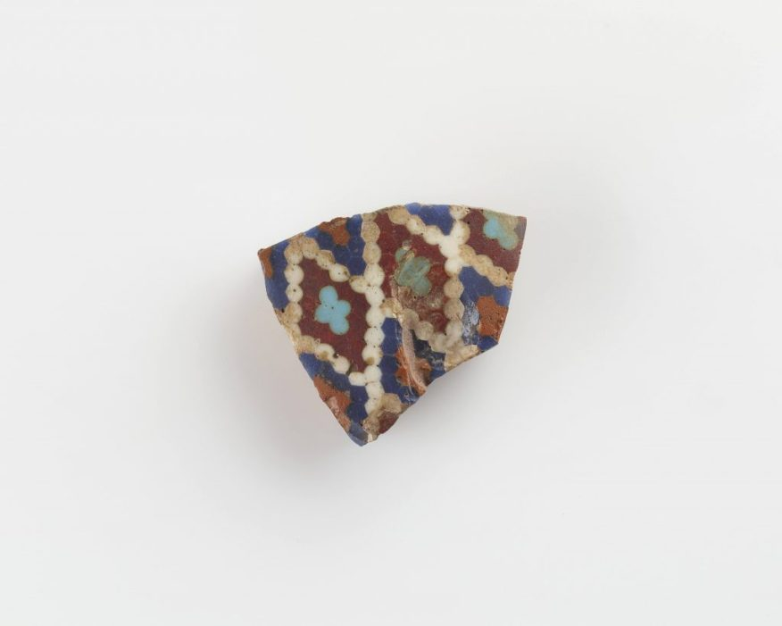 Fragment of a beaker; Syria, Late Bronze Age, 1400–1200 BCE; glass; Gift of Charles Lang Freer, F1909.604