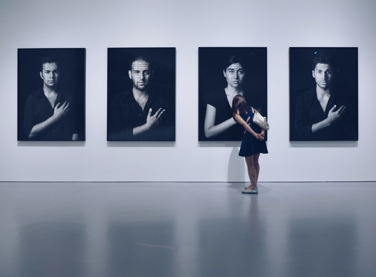 "Silk Road Society visit to ""Shirin Neshat: Facing History"""