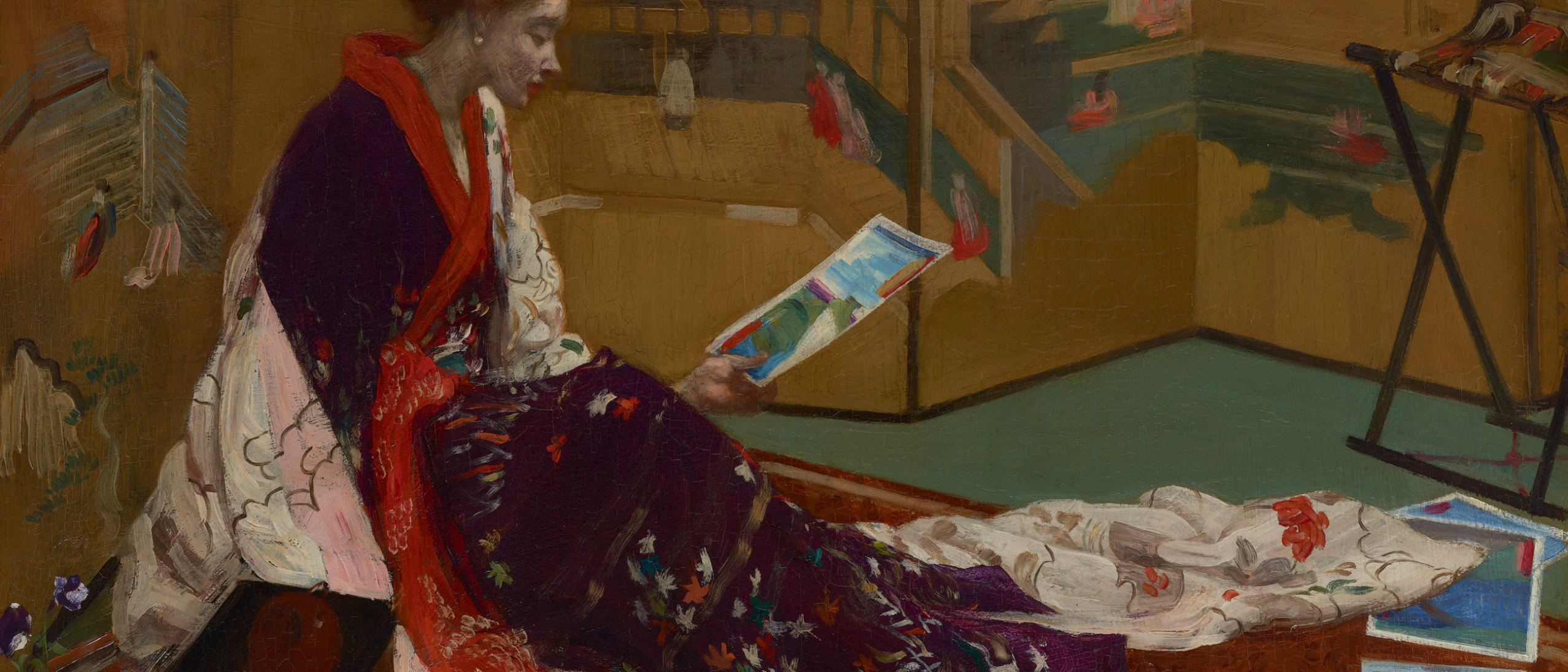Caprice in Purple and Gold: The Golden Screen, F1904.75a