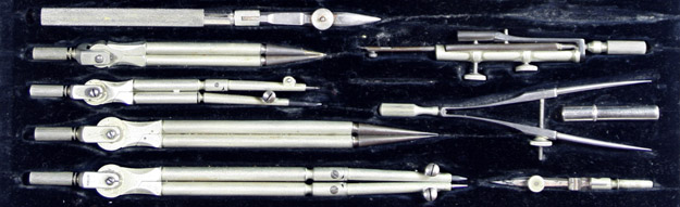 Set of drafting tools