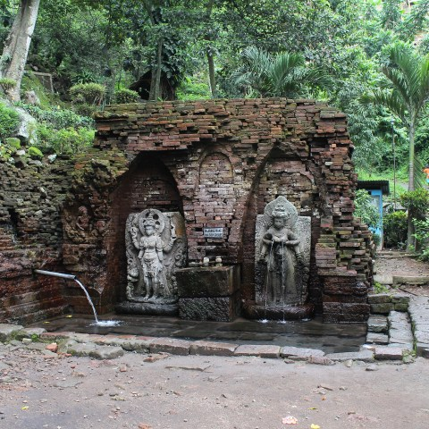 Bathing place at Candi Belahan (1049), East Java