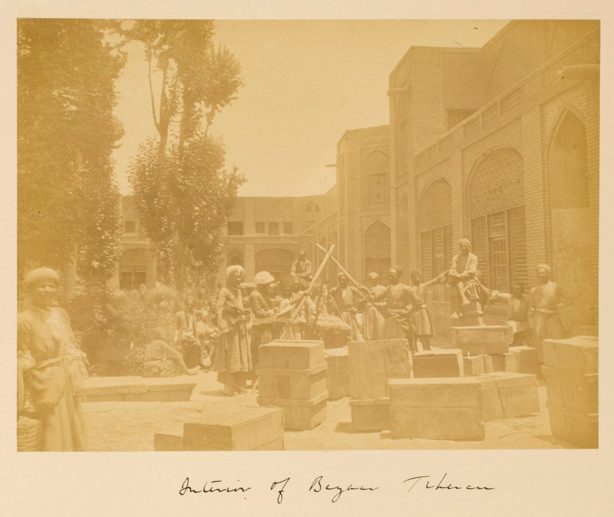 Sevruguin, Antoin,; b&w ; 21.4 cm. x 19.8 cm.; Stephen Arpee Collection of Sevruguin Photographs. Freer Gallery of Art and Arthur M. Sackler Gallery Archives. Smithsonian Institution, Washington D.C., 2011.