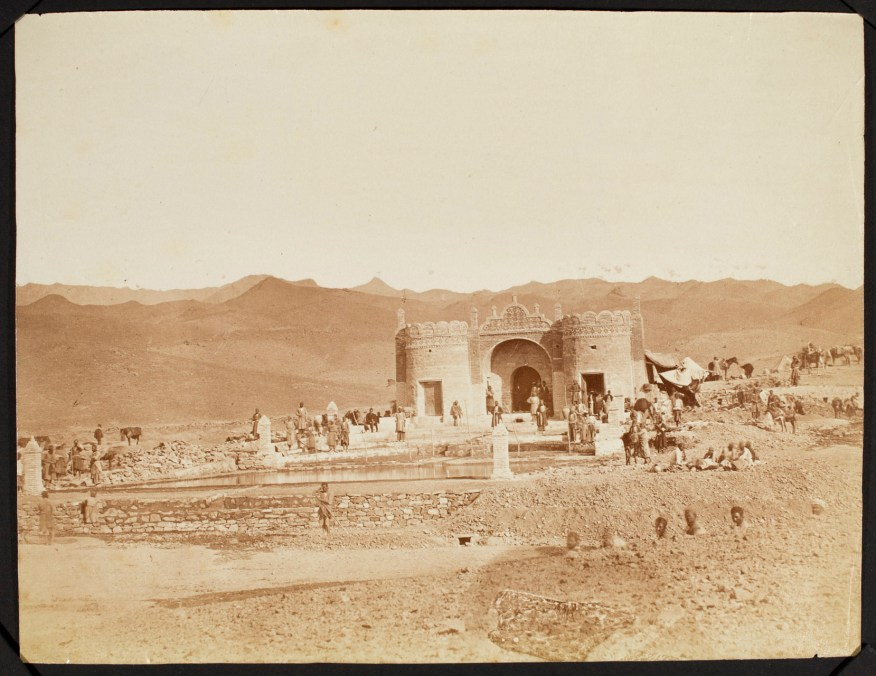 Sevruguin, Antoin,; b&w ; 20.6 cm. x 15.9 cm.; Stephen Arpee Collection of Sevruguin Photographs. Freer Gallery of Art and Arthur M. Sackler Gallery Archives. Smithsonian Institution, Washington D.C., 2011.