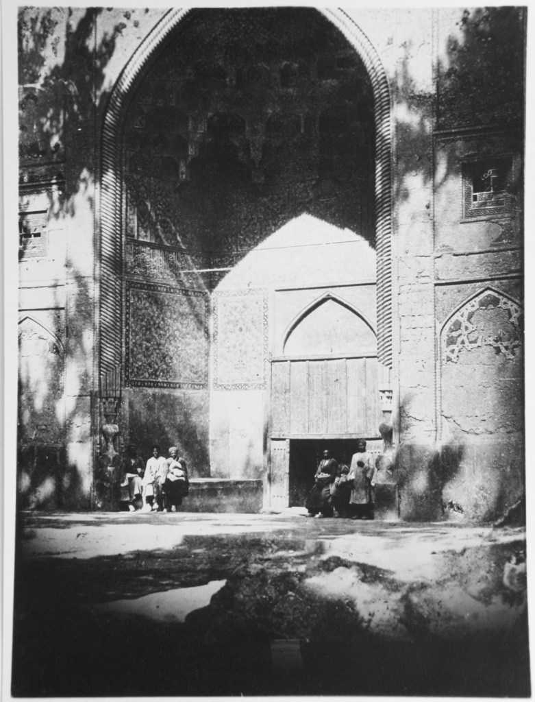 View of Entrance Iwan from the Chahar Bagh