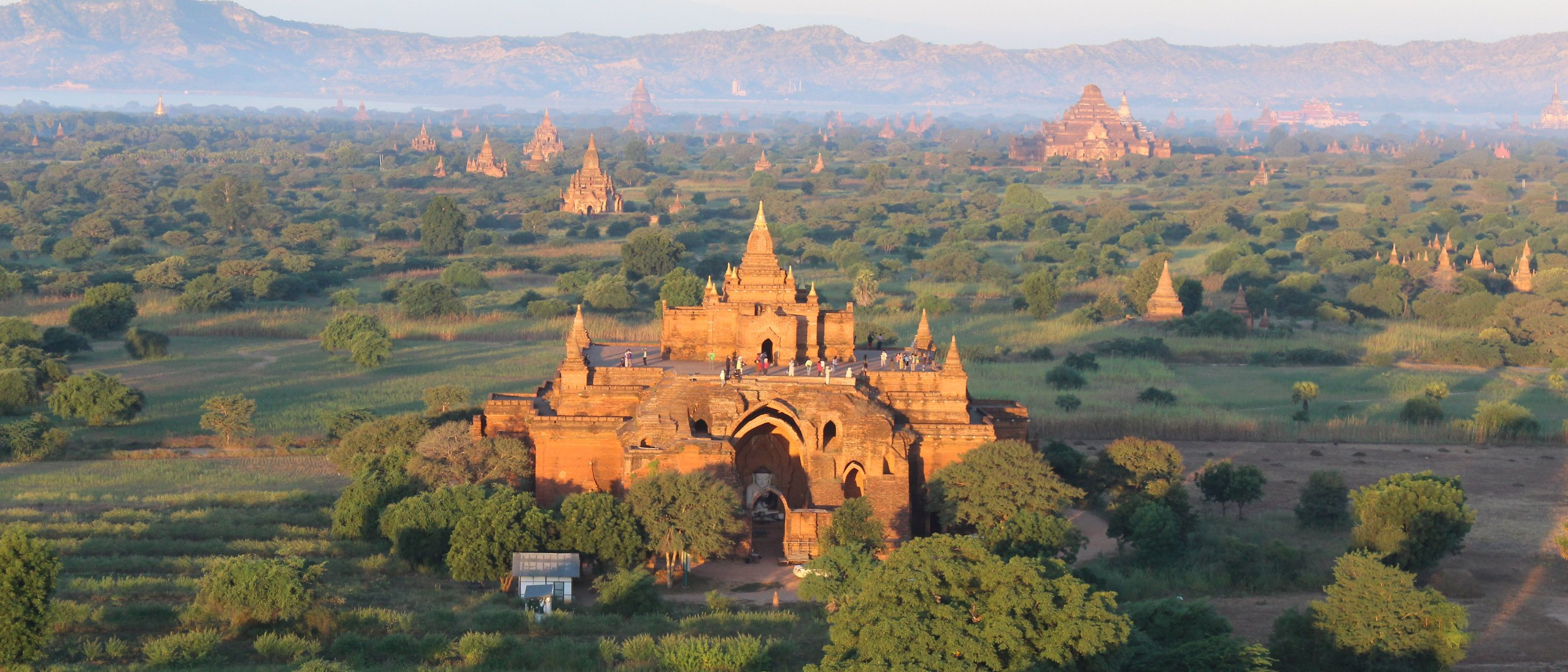 photograph of Bagan