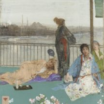 Variations in Flesh Colour and Green - The Balcony