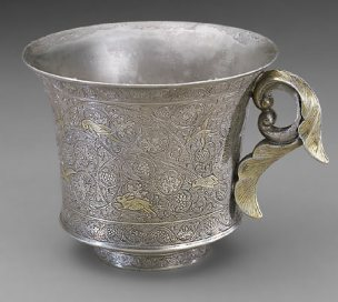 Cup China, Tang dynasty Silver and gilt Purchase F1930.51