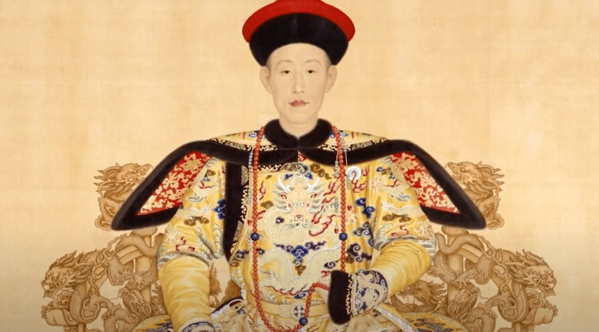 illustration of a woman in traditional chinese attire
