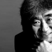 The great Japanese conductor Seiji Ozawa