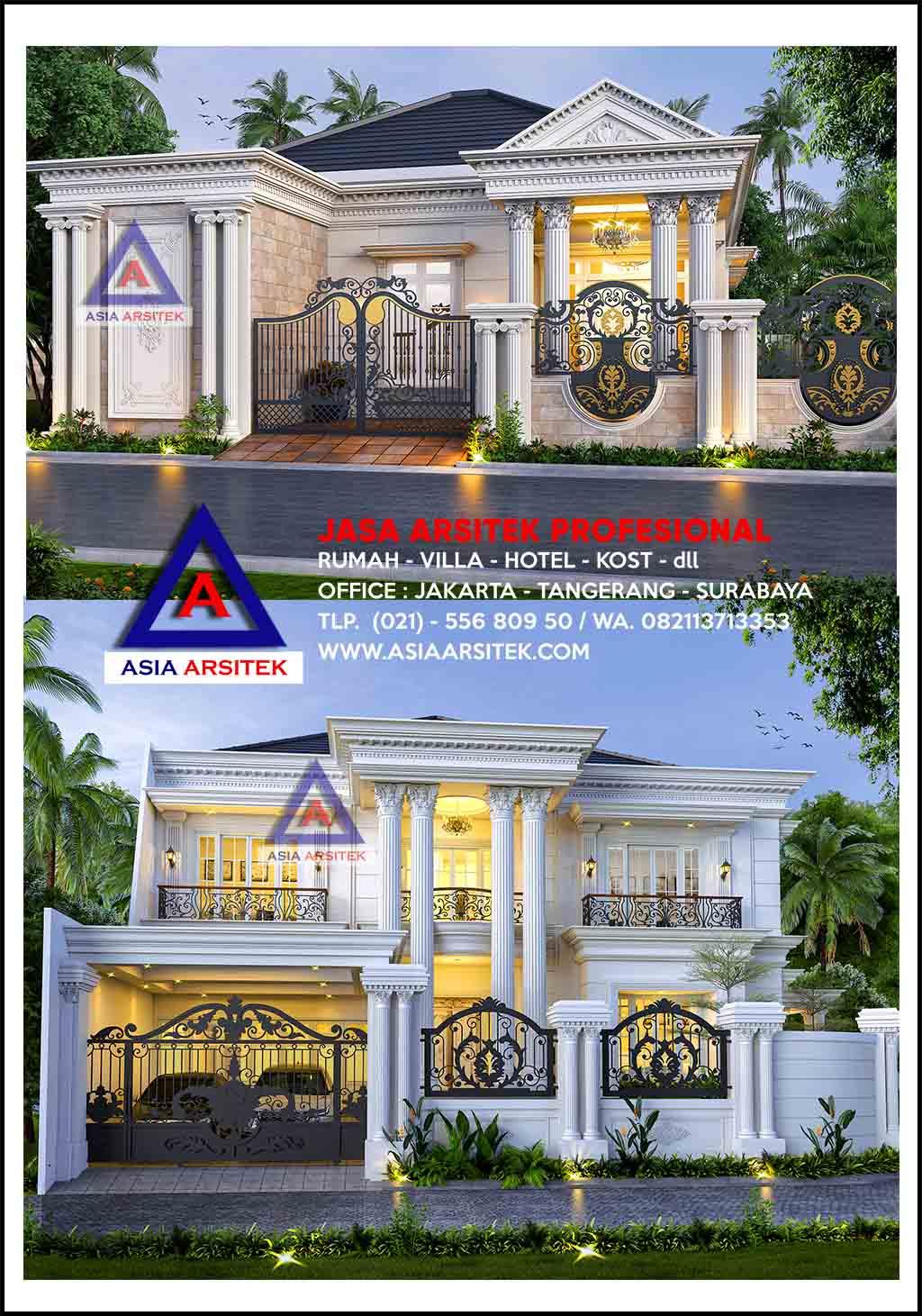 Rumah Klasik Classic Indonesia Modern Mewah Sederhana