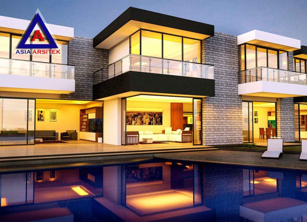 Desain Villa Model 5