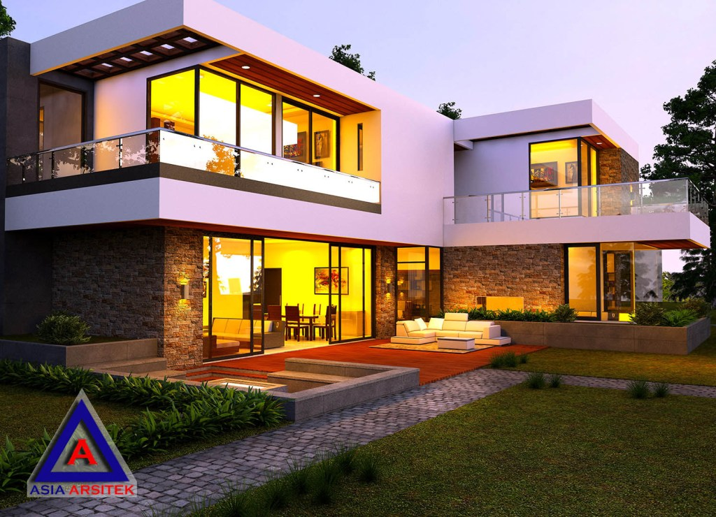 Desain Villa Model 9