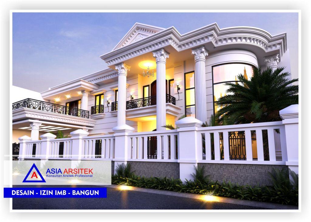 Arsitek Desain Rumah Classic Klasik Mewah Di Bandung-Jakarta-Bogor-Bekasi-Tangerang-Jasa Konsultan Desain Arsitek Profesional - Desain Rumah Mewah - Arsitek Gambar Desain Rumah Klasik Mewah (3)