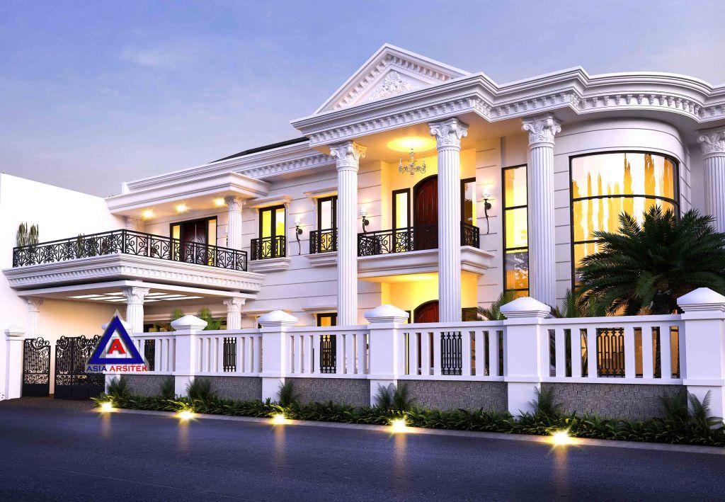 Desain Rumah Classic Mewah