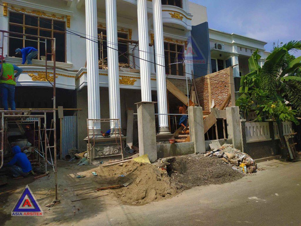 Realisasi Desain Rumah Classic Ibu Elisa Di Jakarta Timur Kunjungan Februari 2019