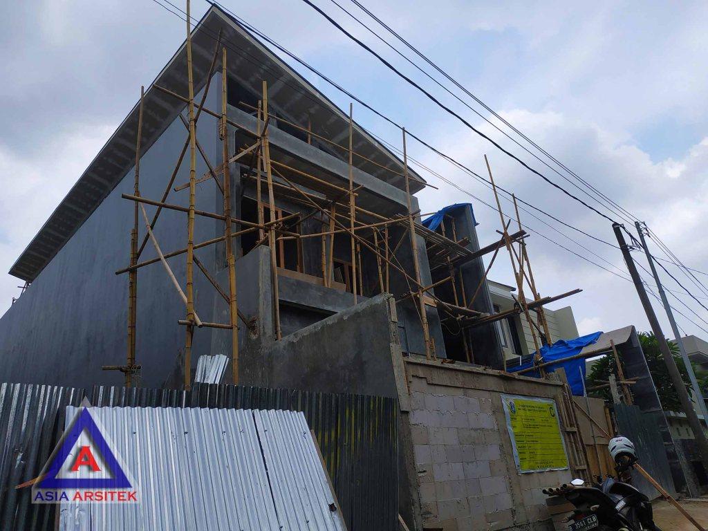 Realisasi Desain Rumah Minimalis Ibu Alfi Di Jakarta Barat Kunjungan Februari 2019