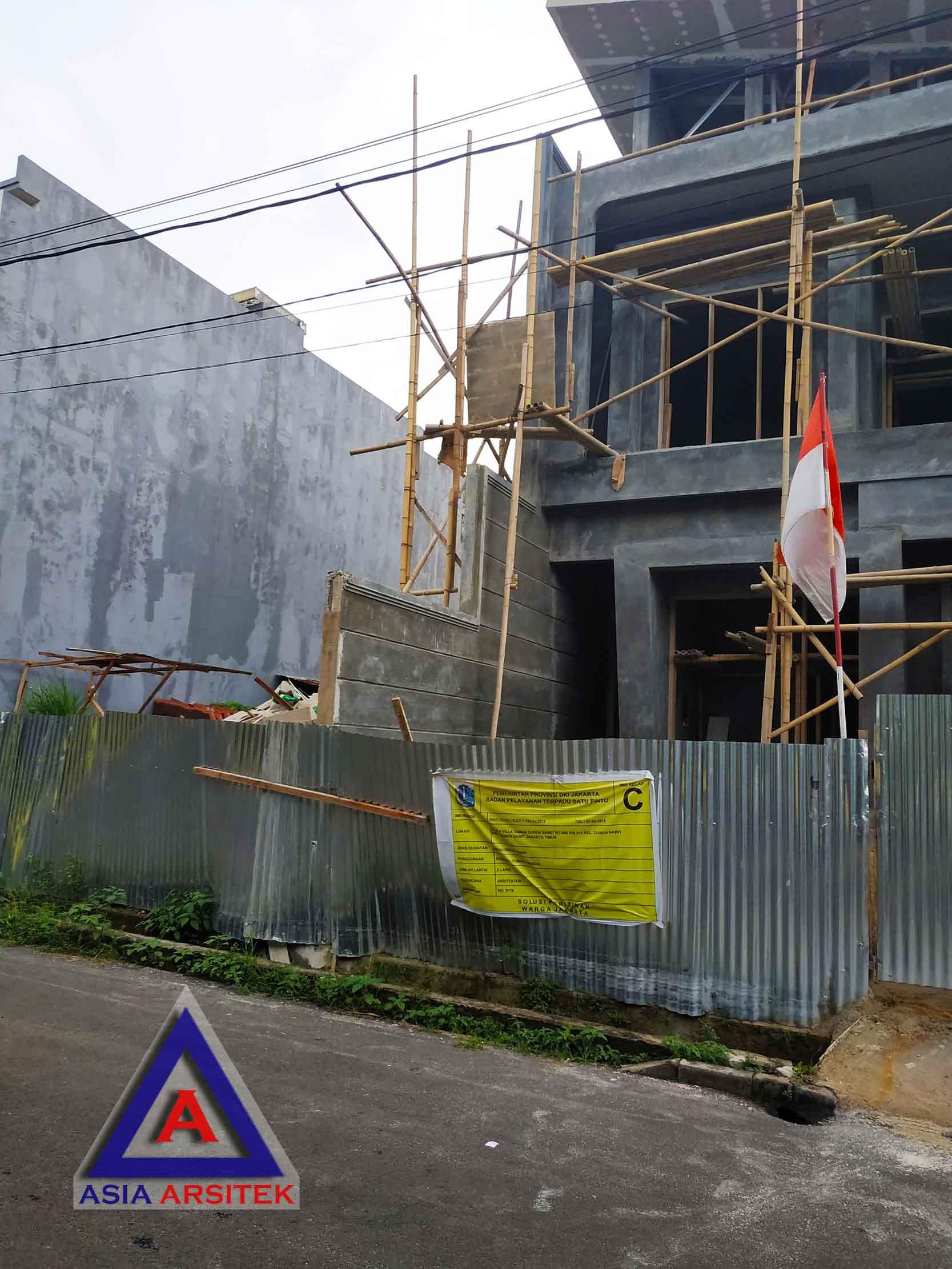 Realisasi Desain Rumah Minimalis Ibu Alfi Di Jakarta Barat Kunjungan Januari 2019