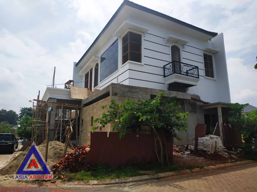 Realisasi Desain Rumah Tropis Ibu Hakim Di Tangerang Kunjungan Februari 2019