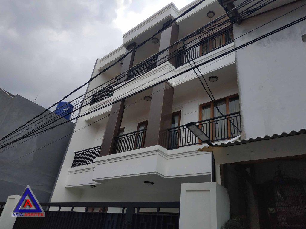 Realisasi Desain Rumah Minimalis Ibu Masri Di Jakarta Selatan