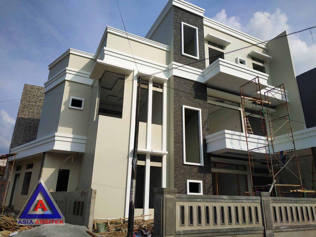 Realisasi Desain Rumah Minimalis Pak Hendra Sun Kho Di Poris Kunjungan Februari 2019