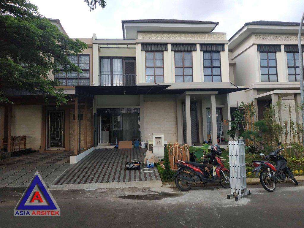 Realisasi Desain Rumah Minimalis Pak Hendri Di Tangerang