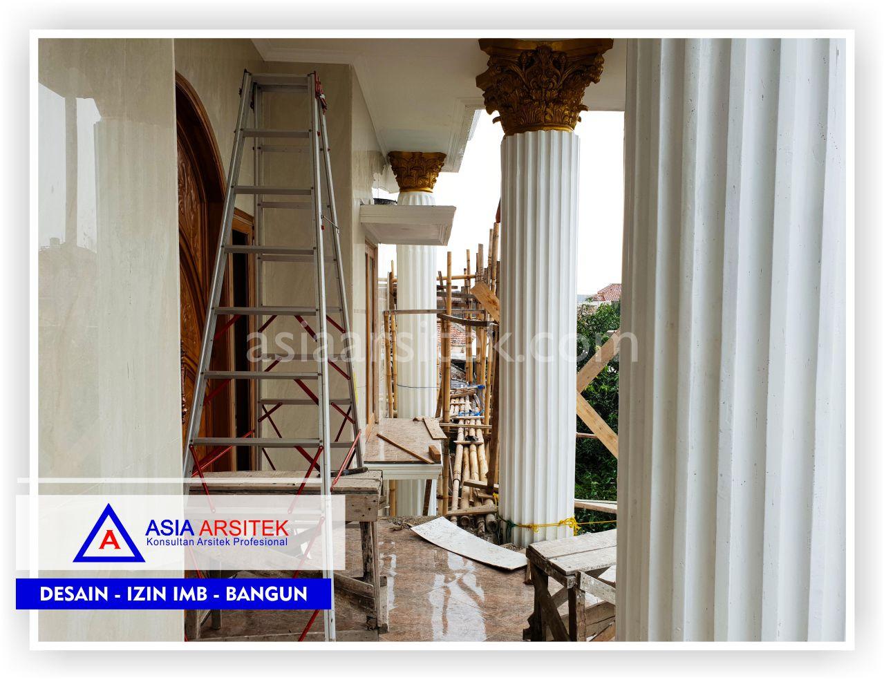 Area Balkon Rumah Klasik Mewah Bu Iis - Arsitek Desain Rumah Minimalis Modern Di Bandung-Tangerang-Bogor-Bekasi-Jakarta-Jasa Konsultan Desain Arsitek Profesional (1)