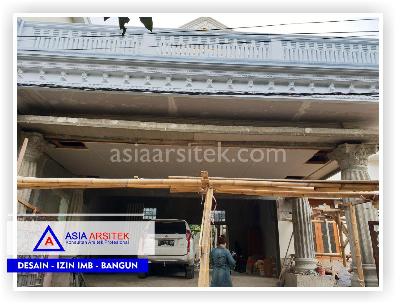 Area Carport Rumah Klasik Mewah Bu Iis - Arsitek Desain Rumah Minimalis Modern Di Bandung-Tangerang-Bogor-Bekasi-Jakarta-Jasa Konsultan Desain Arsitek Profesional (1)
