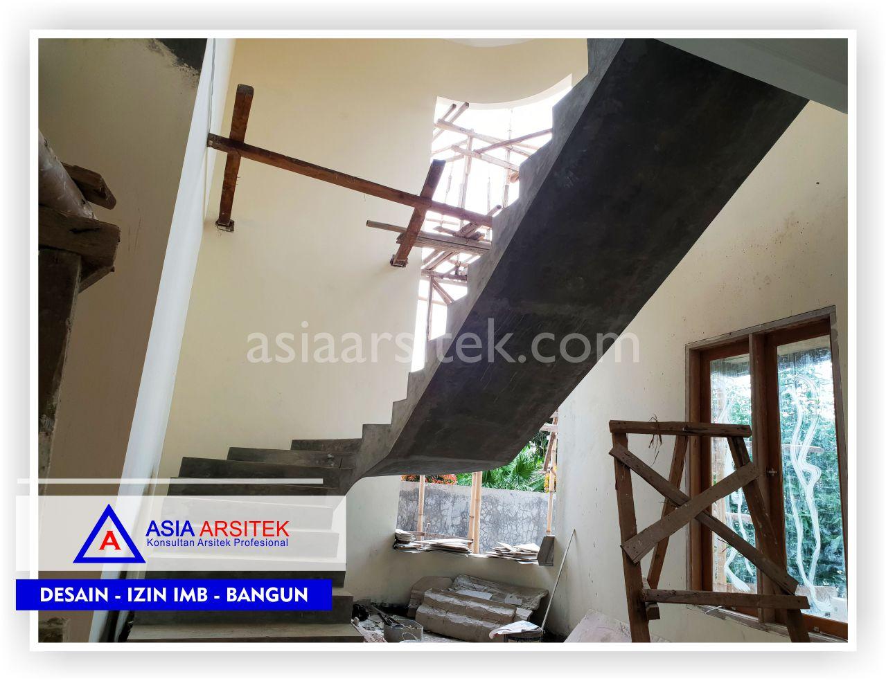Area Tangga Rumah Klasik Mewah Bu Iis - Arsitek Desain Rumah Minimalis Modern Di Bandung-Tangerang-Bogor-Bekasi-Jakarta-Jasa Konsultan Desain Arsitek Profesional (1)