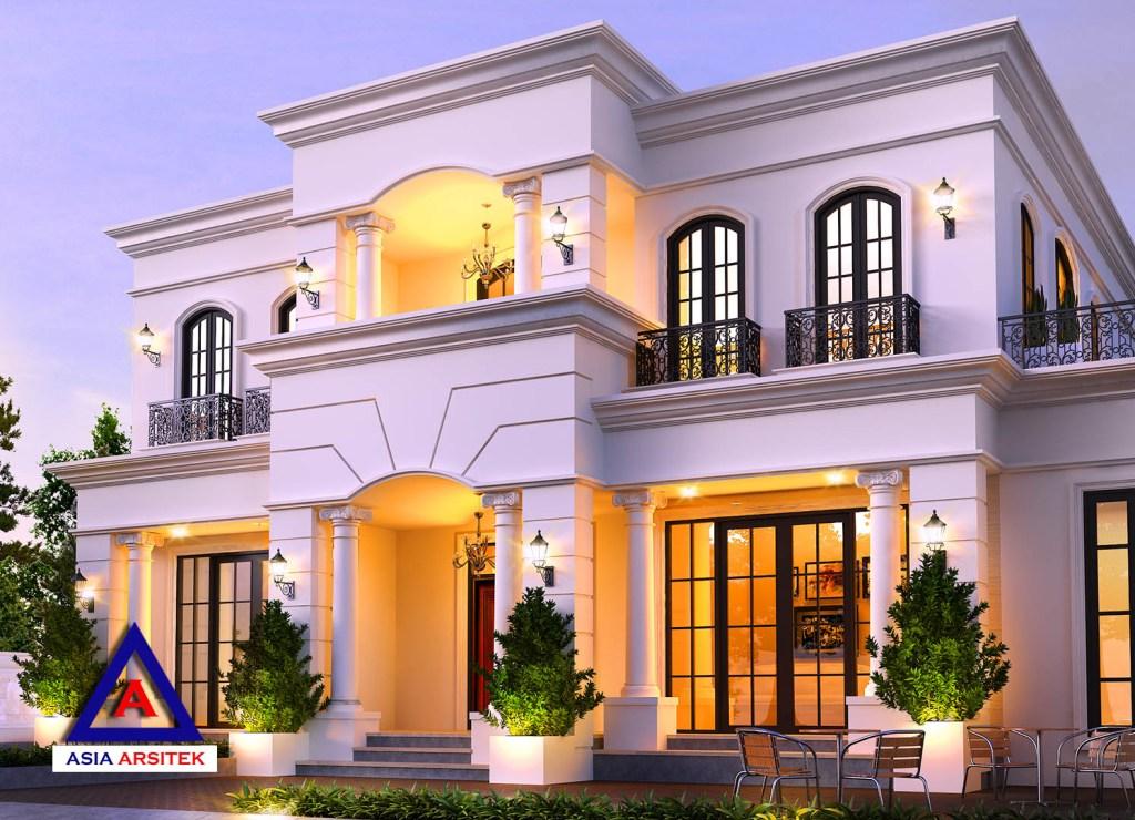 Desain Rumah Tropis Modern Mewah Di Tangerang Banten 3