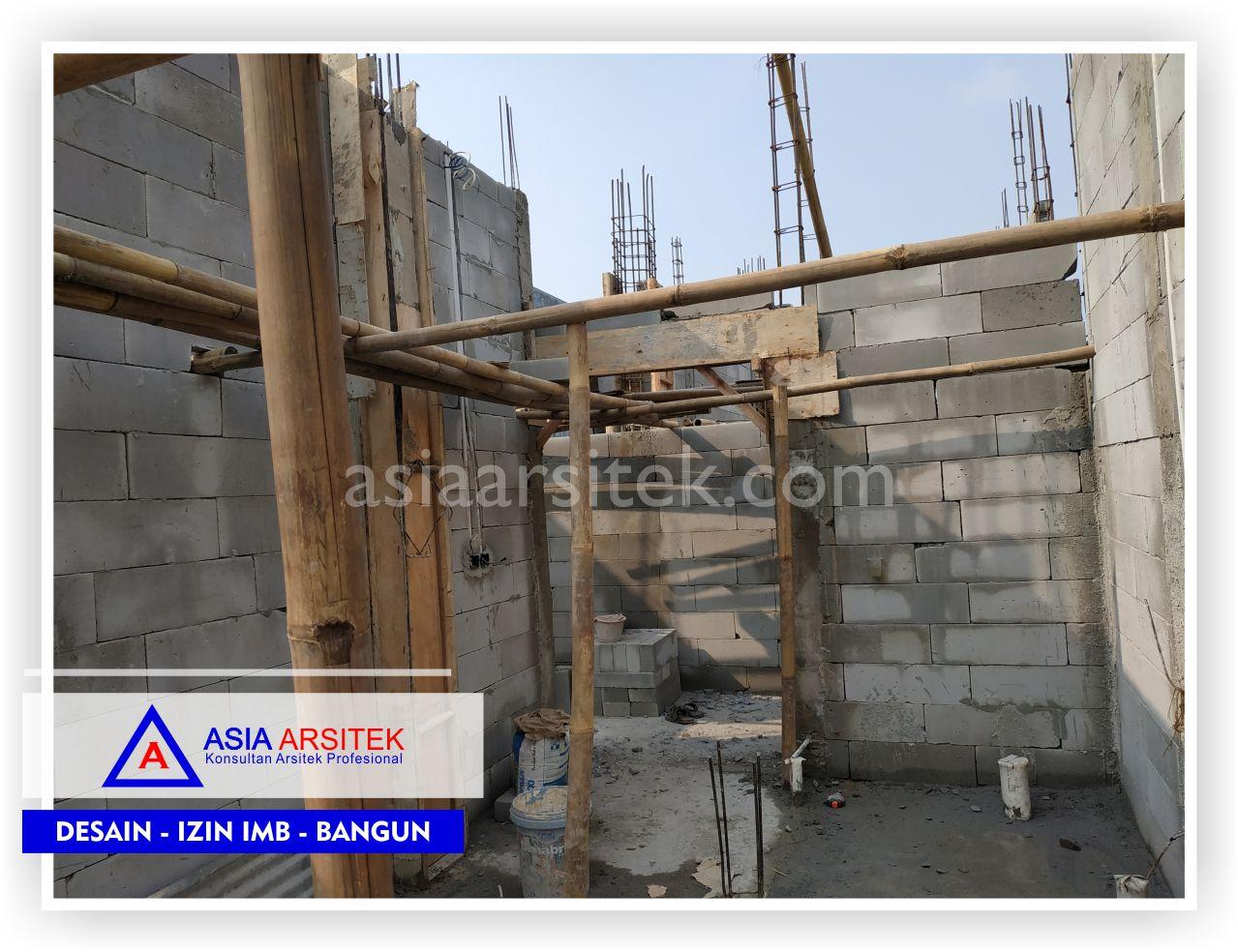 Kontruksi Dinding Lantai 2 Rumah Bpk Hendra Joe - Arsitek Desain Rumah Minimalis Modern Di Tangerang-Jakarta-Bogor-Bekasi-Bandung-Jasa Konsultan Desain Arsitek Profesional (1)