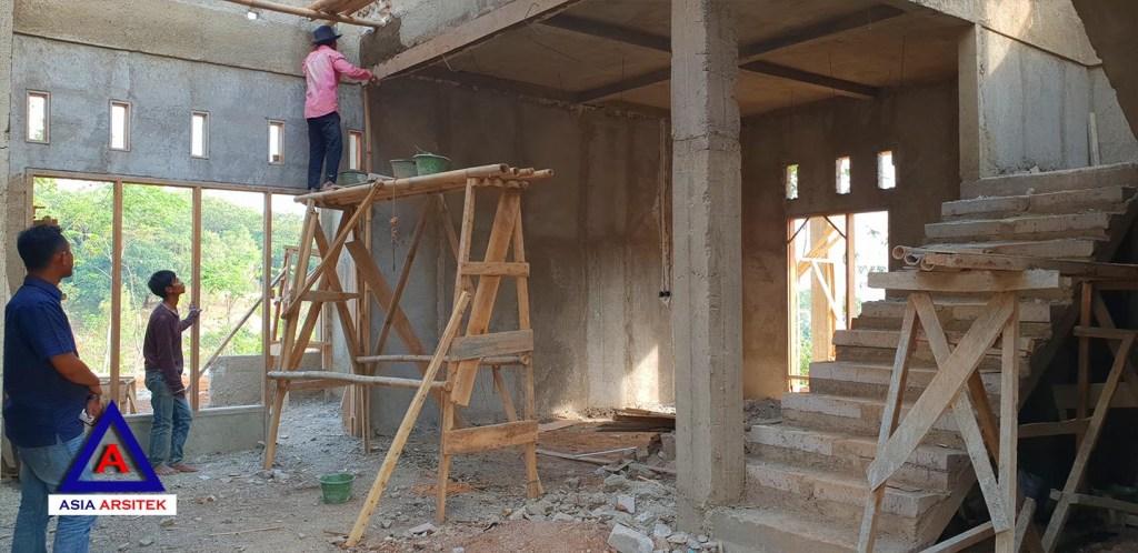 Pekerjaan Tangga Desain Rumah Classic Klasik Mewah Belanda Di Bandung