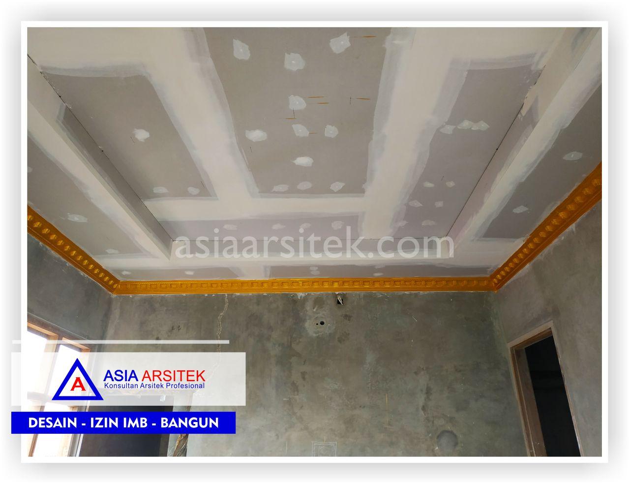 Pemasangan plafon Rumah Klasik Mewah Bu Elisa - Arsitek Desain Rumah Minimalis Modern Di Jakarta-Tangerang-Bogor-Bekasi-Bandung-Jasa Konsultan Desain Arsitek Profesional (2)