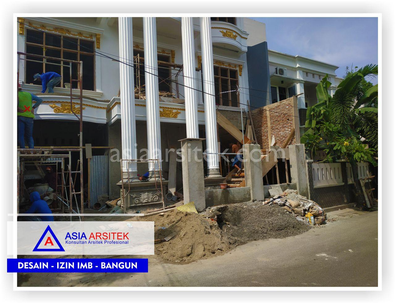 Penyempurnaan Fasad Rumah Klasik Mewah Bu Elisa - Arsitek Desain Rumah Minimalis Modern Di Jakarta-Tangerang-Bogor-Bekasi-Bandung-Jasa Konsultan Desain Arsitek Profesional (4)