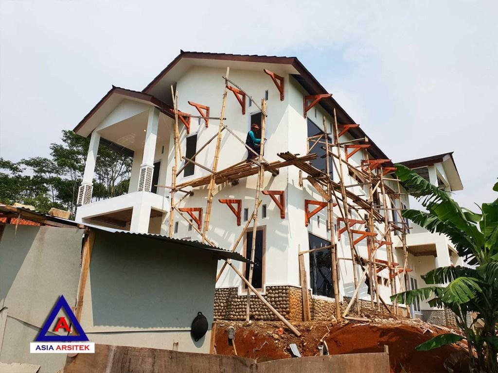 Foto Projek Desain Rumah Classic Klasik Mewah Belanda Di Bandung
