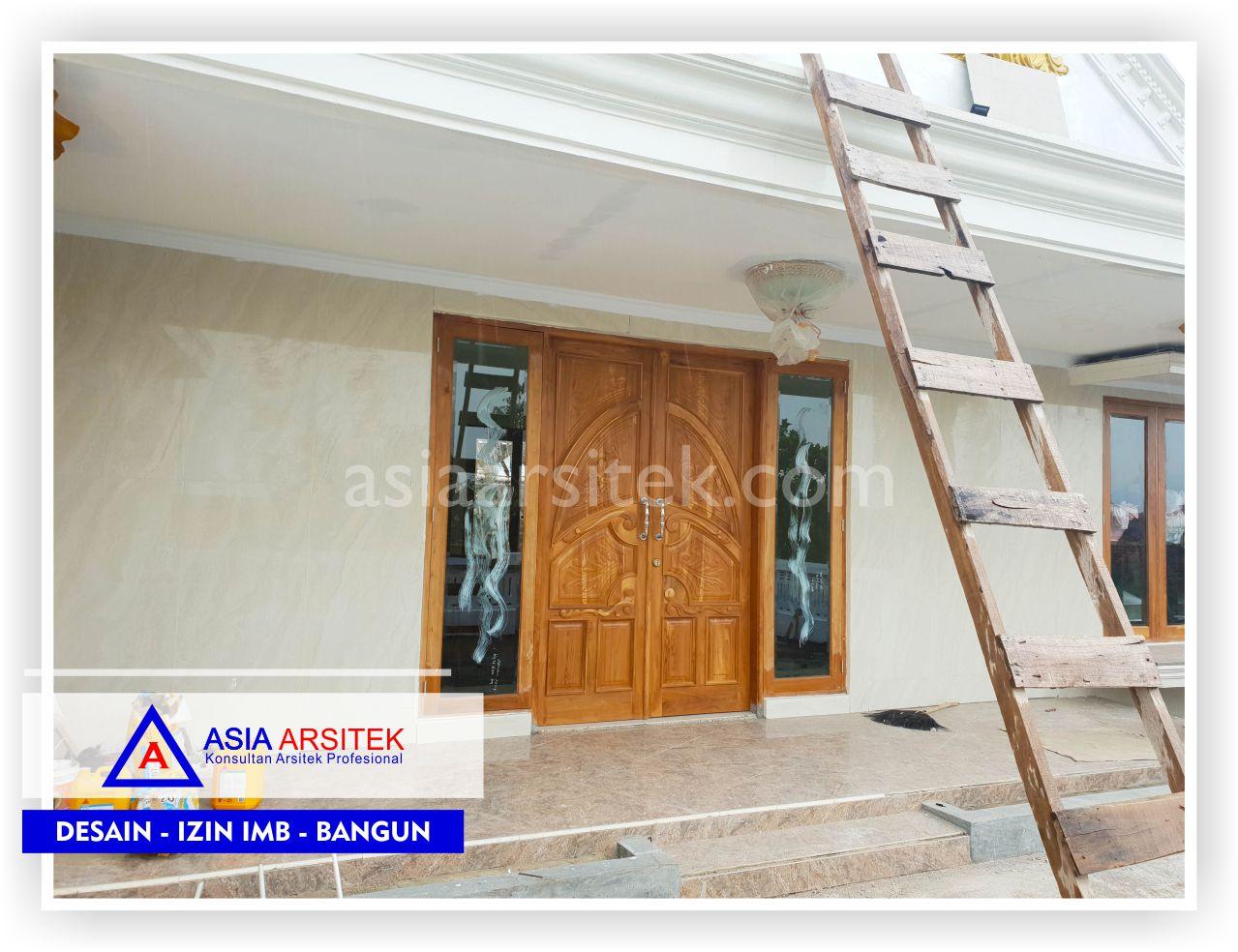 Pintu Balkon Rumah Klasik Mewah Bu Iis - Arsitek Desain Rumah Minimalis Modern Di Bandung-Tangerang-Bogor-Bekasi-Jakarta-Jasa Konsultan Desain Arsitek Profesional