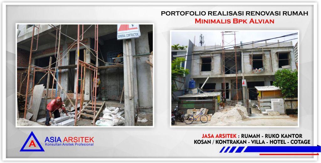 Portofolio Realisasi Rumah Minimalis Bpk Alvian Di Jakarta-Tangerang-Bogor-Bekasi-Bandung-Jasa Konsultan Arsitek Profesional - Desain Rumah Mewah - Arsitek Gambar Desain Rumah Klasik Mewah 6