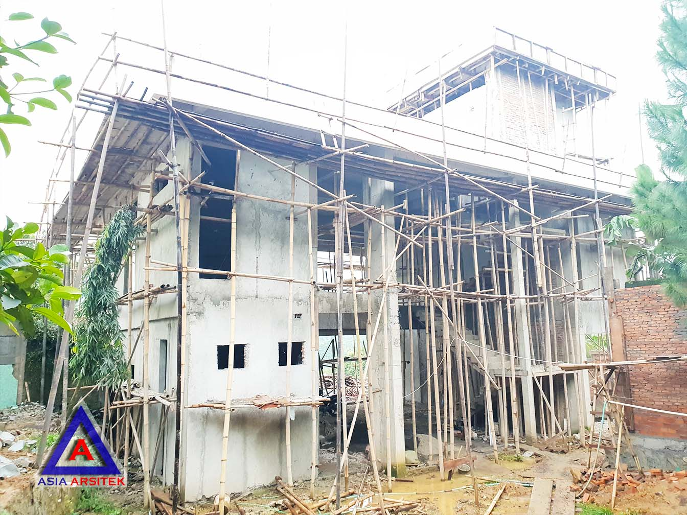Pekerjaan List Profil Rumah Realisasi Desain Villa Mewah Bu Kartini Di Sentul Bogor