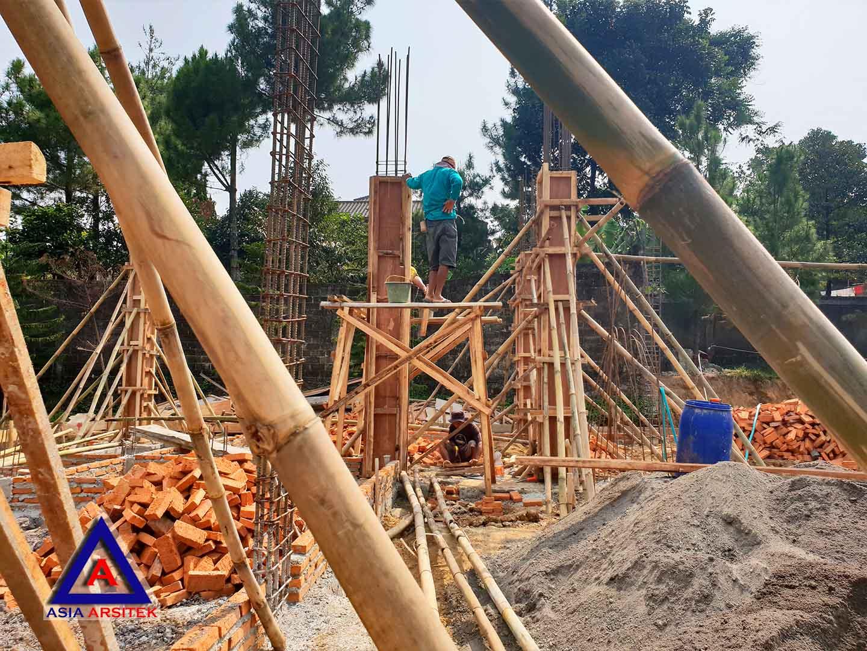 Foto Projek Desain Villa Mewah Bu Kartini Di Sentul Bogor