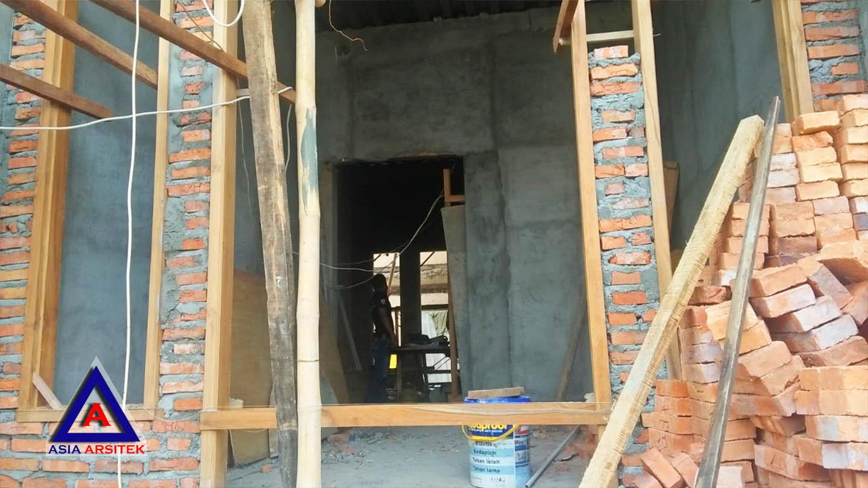 Foto Projek Desain Rumah Klasik/Classic Bu Maudy Di Bekasi