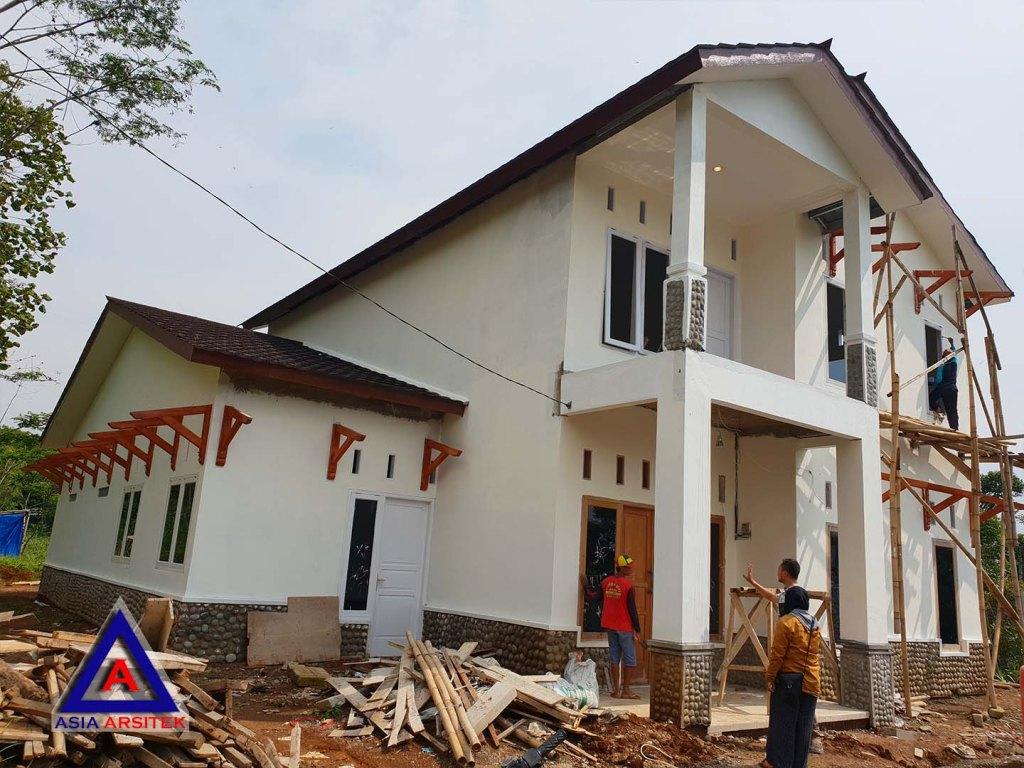Realisasi Desain Rumah Klasik Classic Belanda Ibu Lisda Di Bandung