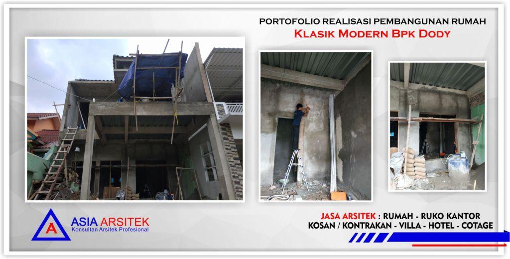 Realisasi Kunjungan Rumah Classic Klasik Bpk Dody Tangerang-Jakarta-Bogor-Bekasi-Bandung-Jasa Konsultan Desain Arsitek Profesional - Desain Rumah Mewah - Arsitek Gambar Desain Rumah Klasik 3