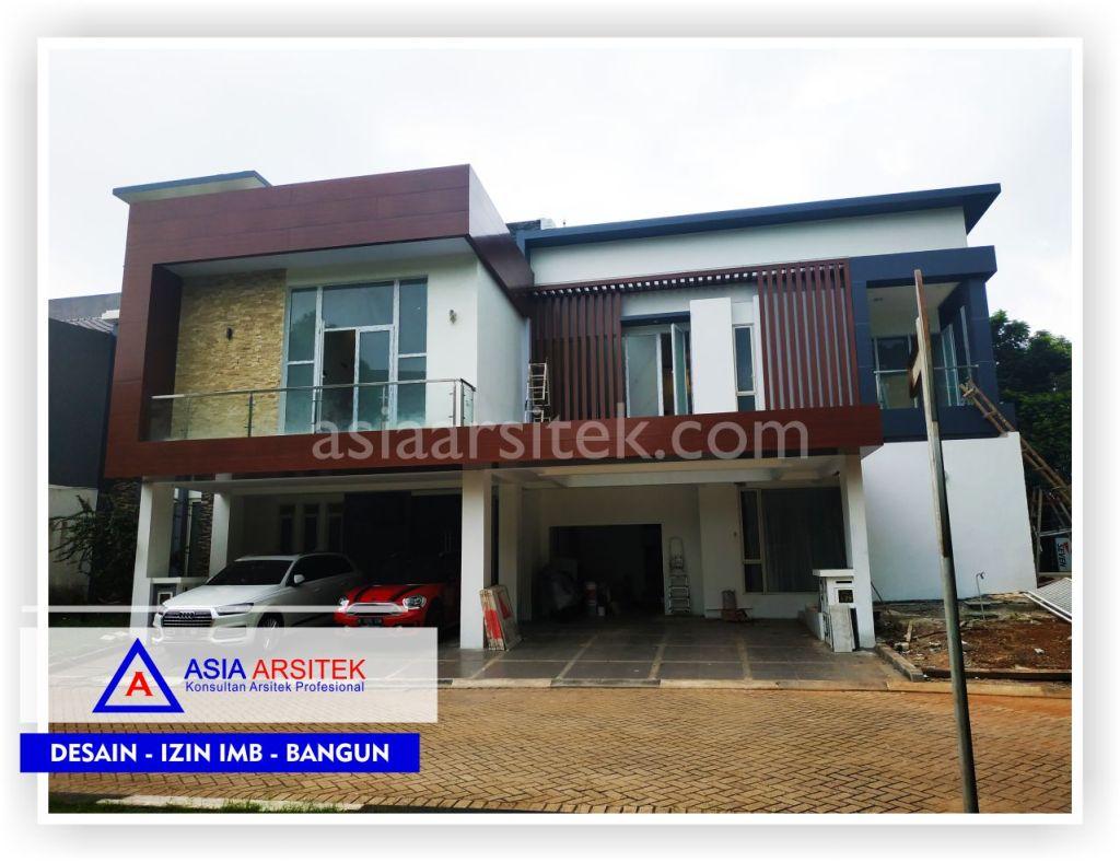 Tampak Depan Rumah Minimalis Bpk Ananda Di Tangerang-Jakarta-Bogor-Bekasi-Bandung-Jasa Konsultan Arsitek Profesional - Desain Rumah Mewah - Arsitek Gambar Desain Rumah Klasik Mewah 2