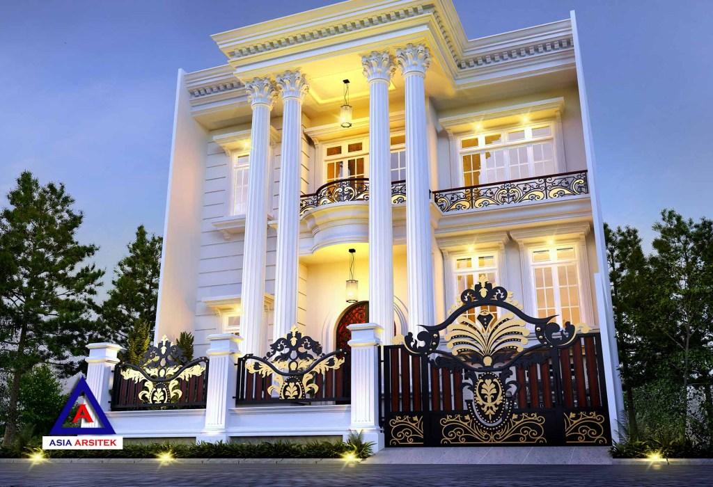 Desain Rumah Classic Klasik Modern Mewah Di Tangerang 15