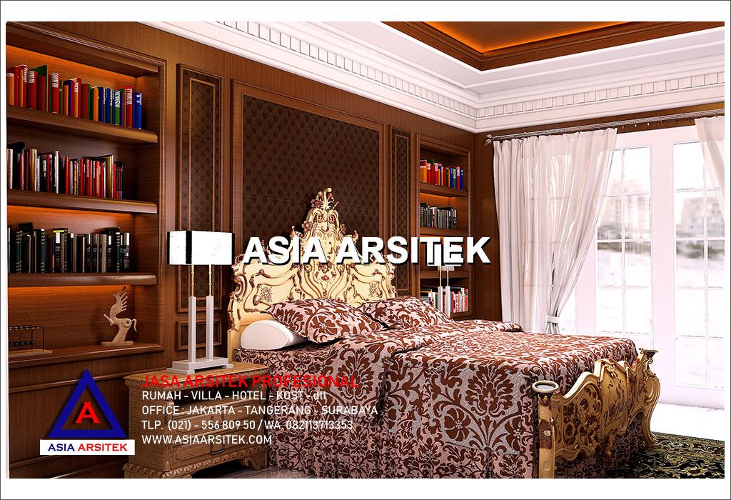 Jasa Arsitek Desain Gambar Interior Rumah Mewah Tropis Tradisional Jawa Di Jakarta